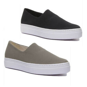 Cupsole Canvas Shoes In Olive Size UK