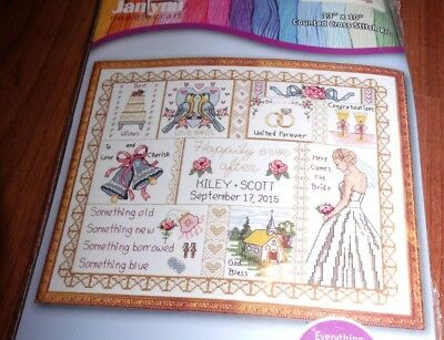 "Janlynn APACHE WEDDING BLESSING Counted Cross Stitch Kit 8/"" x 10/"""