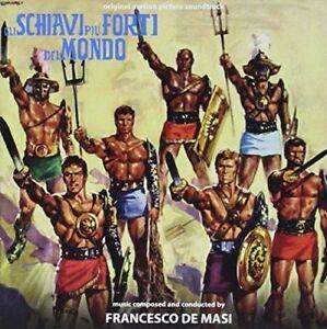 Francesco De Masi - Gli Schiavi Più Forti Del Mondo - CD - Digitmovies - Nuovo