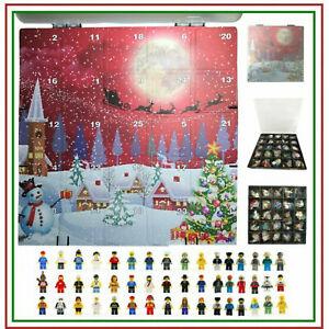 25 x Assortiti lavori CITY minifigura giocattolo si adatta Calendario dell'Avvento LEGO