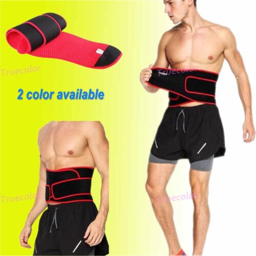 Women Men Waist Cincher Trainer Body Girdle Corset Gym Workout Sport Shaper Belt