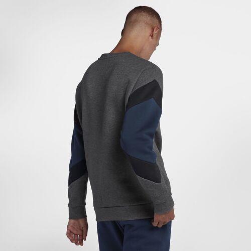 80 Xxl antracite in Nike 00 Heather £ Air Uomo Rrp pile Felpa grigio Black Obsidian dO0x4Xn