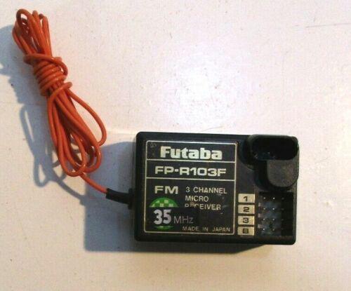FUTABA FP-R103F 3 Canaux Récepteur 35 MHz excellent état