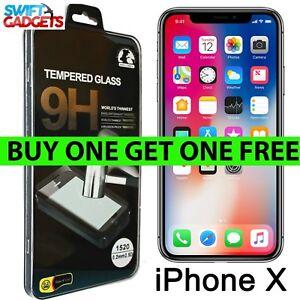 Apple-iPhone-vidrio-protector-de-pantalla-templado-Protector-X-Proteccion-2-Pack