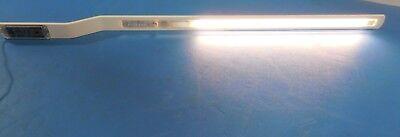 "Haworth 34/"" Task Light Fixture Fluorescent Cubicle Work Station Metal Used Works"