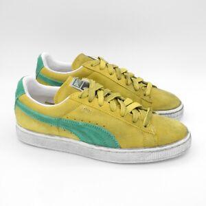 Dettagli su PUMA SUEDE CLASSIC+ NUOVE nr 40 scarpe sportive Unisex camoscio giallo 352634 63