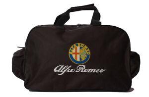 ALFA ROMEO TRAVEL / GYM / TOOL / DUFFEL BAG 164 156 147 159 166 mito spider flag