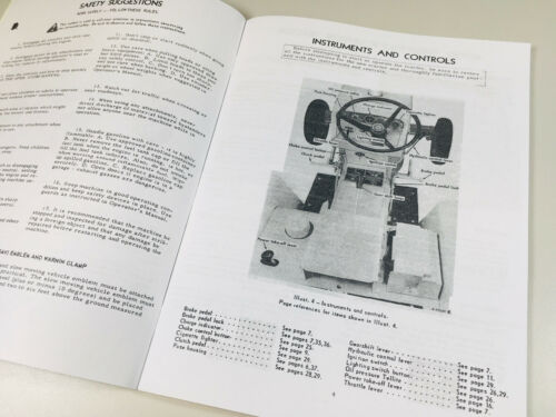 INTERNATIONAL FARMALL CUB 154 LO-BOY TRACTOR OPERATORS OWNERS MANUAL