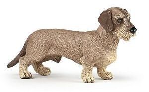 WIREHAIRED-DACHSHUND-DOG-54043-NEW-for-2017-FREE-SHIP-USA-w-25-Papo-Item