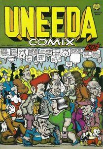 R-CRUMB-UNEEDA-COMIX-1970-1ST-PRINTING-PRINT-MINT-MR-NATURAL