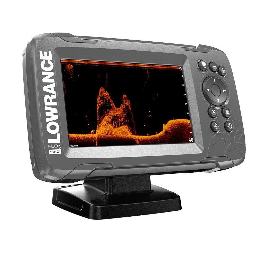 Gancho de Lowrance 2-5X GPS splitshot Fishfinder