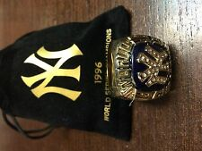 2016 NY YANKEES 8-28-16 SGA 1996 WORLD SERIES CHAMPIONS FAN RING
