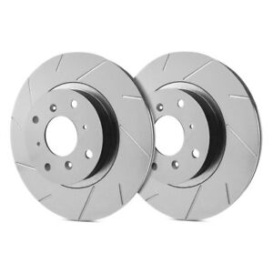 For-Lincoln-Town-Car-81-90-SP-Performance-Slotted-1-Piece-Front-Brake-Rotors