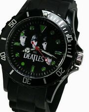 Men's The Beatles Silicone Watch – Color Black