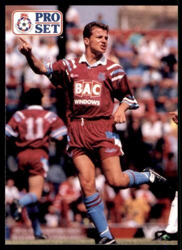 Pro Set Fútbol 1991-1992 West Ham United Stuart Slater #124