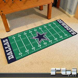 Dallas Cowboys Nfl Football Field Runner Floor Door Mat