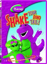 BARNEY SHAKE YOUR DINO TAIL New Sealed DVD Barney
