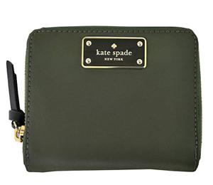 27fda682abec7 Details about Kate Spade Darci Wilson Road Zip Around Nylon Wallet
