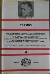 Teatro-Volume-secondo-Bertolt-Brecht-Copertina-rigida-Einaudi-1970
