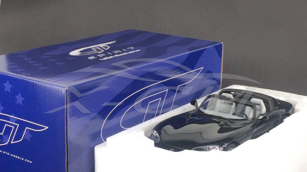 Modelo de coche de resina GT Spirit Usa Exclusivo Dodge Viper RT 10 (nero) 1 18 + Regalo