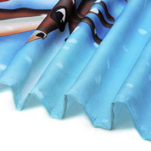 Turban African American Beauty Girl Shower Curtain Liner Waterproof Fabric Hooks
