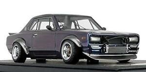 Ignition Model 1/43 NISSAN Skyline 2000 GT-R KPGC 10 Metallic Violet Vert IG1603