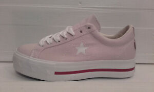 Sneakers Converse One Star Platform Low Rosa Donna In Linea