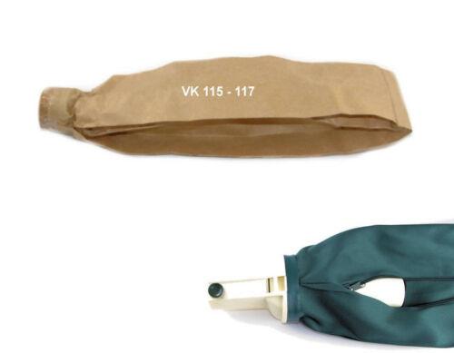 117 10 Staubsaugerbeutel Staubbeutel  passend für Vorwerk Kobold 116