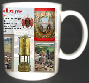 DARFIELD-MAIN-COLLIERY-COAL-MINE-MUG-LIMITED-EDITION-GIFT-MINERS-YORKSHIRE-PIT
