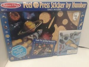 Melissa-amp-Doug-Peel-amp-Press-Sticker-by-Number-Space-Mission-SEALED