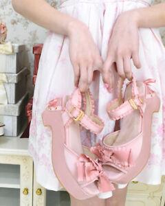 LIZ-LISA-Frill-Ribbon-Sandals-japan-kawaii-lolita-harajuku