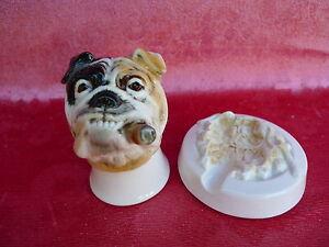 schone-Porzellanfigur-Bulldogge-mit-Zigarre-Aschenbecher-Ens-Thuringen