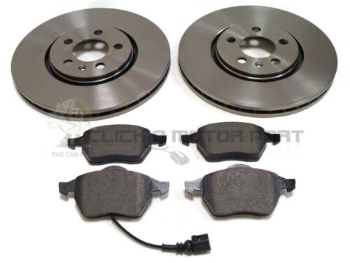 2.3 V5 99-05 FRONT 2 BRAKE DISCS 288mm AND MINTEX PADS SET NEW VW BORA 1.9 TDi
