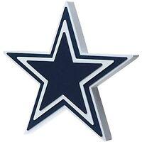 Foam Fanatics Dallas Cowboys 3d Foam Star Wall Sign, New, Free Shipping