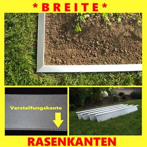 10 pièces mähkante pelouse arêtes métal hauteur 20cm pour vos parterres pelouse Large