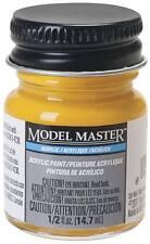 Testors Model Master Flat Reefer Yellow 1/2 oz Acrylic Paint 4879 TES4879