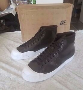 408577-200 Nike All Court Mid (velvet brown   white) NIB NEW Size 10 ... 48d2bca06b2b