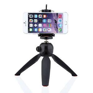 YUNTENG-Stativ-fuer-Apple-iPhone-6-6s-7-Staender-Halterung-Tripod-Kamera-Foto