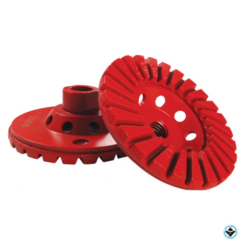 """4/"""" Diamond cup wheel turbo 5//8-11 thread coarse grit grinding all natural stone."""