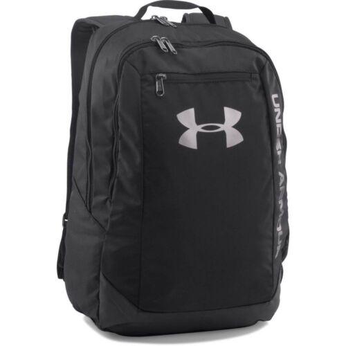 Under Armour 2017 UA Hustle LDWR Backpack Rucksack Gym School Bag 1273274 Black
