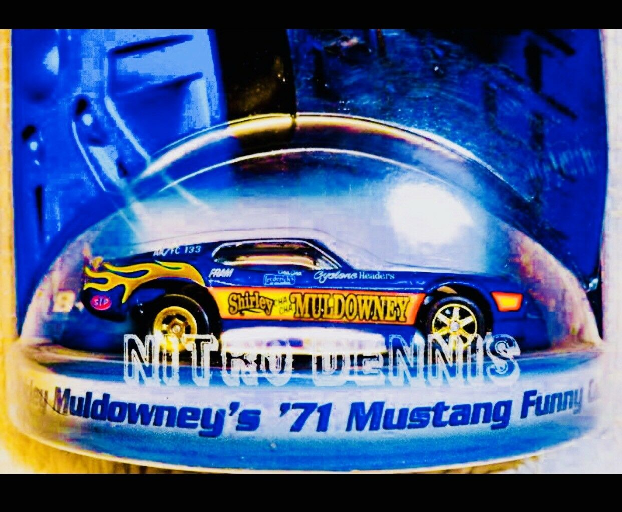 NHRA Shirley Muldowney 1 64 Top Fuel Nitro Coche Diverdeido IHRA Drag Racing Adra