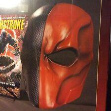 New Version Assassin Deathstroke Mask Helmet Arkham Origins Deathstroke Cosplay