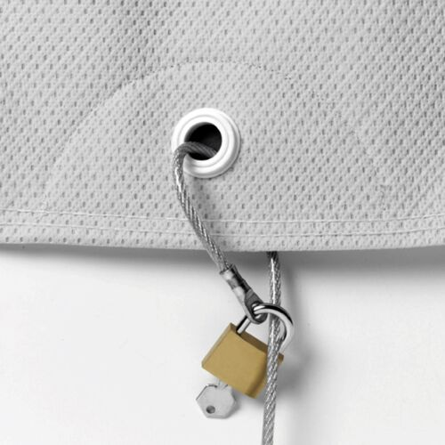 CAR COVER SECURITY CABLE AND LOCK SET