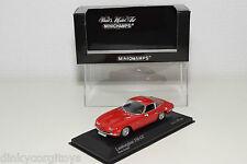 MINICHAMPS LAMBORGHINI 350 GT 350GT RED MINT BOXED RARE SELTEN RARO