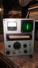 Vintage Rs Radio Specialty Fm Deviation Meter As Is