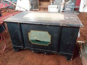 Antique-nautical-theme-whale-and-ship-decorative-box-Storage-maritime
