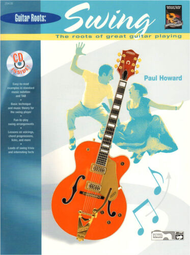 Guitar Roots Swing Bigband Jazz Jump Gitarre Noten Tab CD