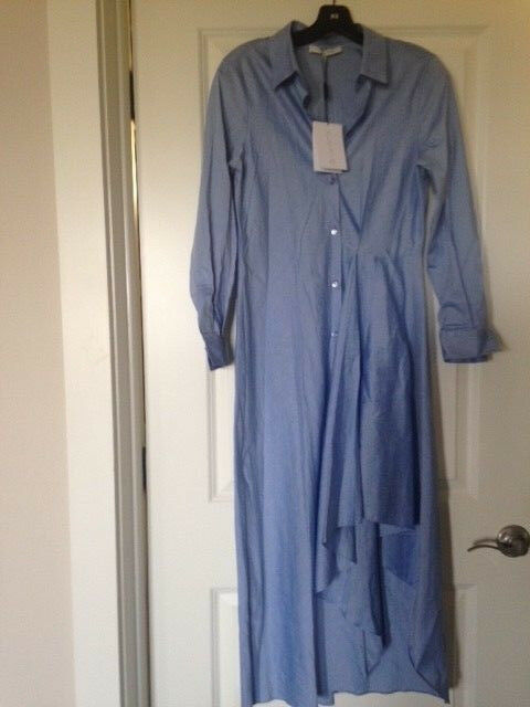 NEW NEW NEW with Tags Auth Alexis Drew Dress in bluee Size Medium d379a7
