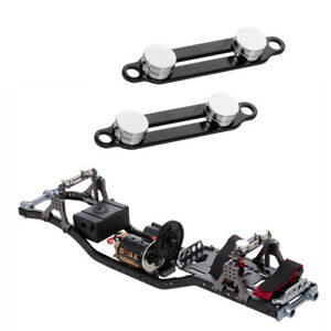4 lot RC Truck Body Mount with Magnetic for Axial SCX10 II 90046 Crawler Car