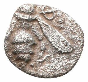 Koc-Greek-Coins-IONIA-Ephesos-Circa-500-420-BC-Tetartemorion-6-5mm-0-14g